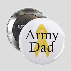Army Dad Ribbon Button