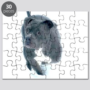 Momma Mia Blue Tripod Bully Puzzle