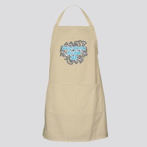 Stamp collecting excites me BBQ Apron