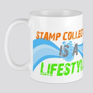 Stamp collecting is a lifesty Mug