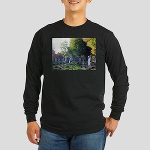 Korean war memorial Long Sleeve Dark T-Shirt