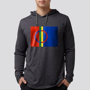 Scandinavia Sami Flag Long Sleeve T-Shirt