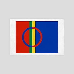 Scandinavia Sami Flag 4' x 6' Rug