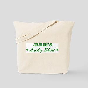 JULIE - lucky shirt Tote Bag