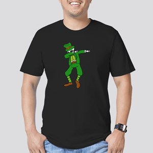 Dabbing St Patrick's Day Leprechaun Skelet T-Shirt