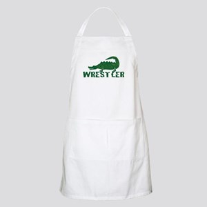 Alligator Wrestler BBQ Apron