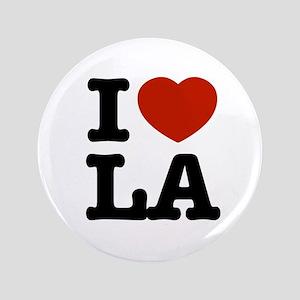 """I love LA 3.5"""" Button"""