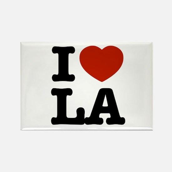 I love LA Rectangle Magnet