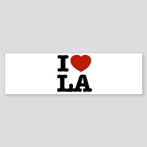 I love LA Bumper Sticker