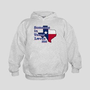 Someone in Texas loves me Kids Hoodie