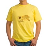 Don't Be Jealous Yellow T-Shirt