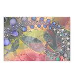 Pretty Pastels Fractal Image Postcards (8)