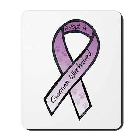 Wirehaired Ribbons F Mousepad