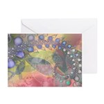 Pretty Pastels Fractal Image Greeting Cards (6)