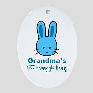 Grandma's Snuggle Bunny Boy Keepsake or Gift Tag