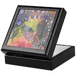 Pretty Pastels Fractal Image Keepsake Box
