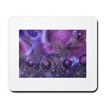 Purple Fractal Image Mousepad
