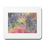 Pretty Pastels Fractal Image Mousepad