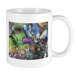 Purple Fractal Design Mug