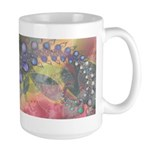 Pretty Pastels Fractal Image Large Mug