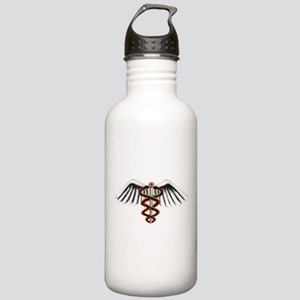 Medical Alert Symbol Stainless Water Bottle 1.0L