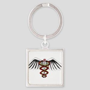 Medical Alert Symbol Keychains