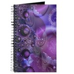 Purple Fractal Image Journal