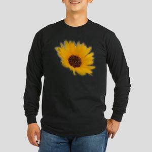 Sunflower Long Sleeve Dark T-Shirt