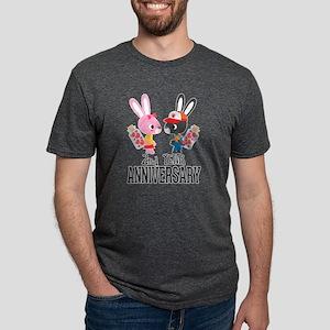 2nd Anniversary Couple Bunnies T-Shirt