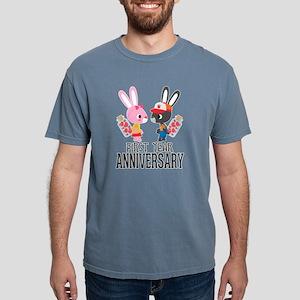 1st Anniversary Couple Bunnies T-Shirt