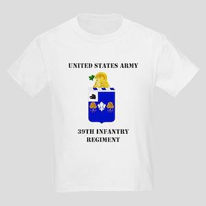 39th Infantry Regiment Kids Light T-Shirt