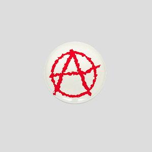 Red Atheist A Mini Button