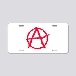 Red Atheist A Aluminum License Plate