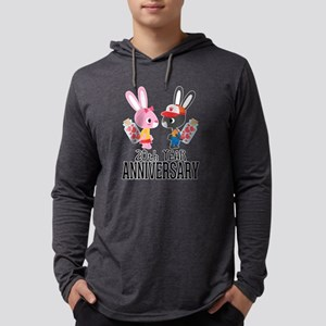 20th Anniversary Couple Bunnie Long Sleeve T-Shirt