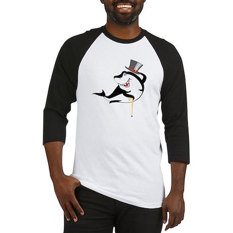 Top-Hat Shark Baseball Jersey