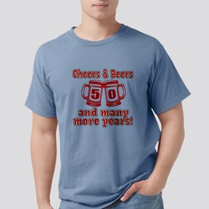 Cheers And Beers 50 And Many More Ye T-Shirt