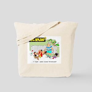 MORE SCHOOLING Tote Bag