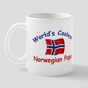 Coolest Norwegian Papa Mug