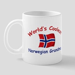 Coolest Norwegian Grandma Mug