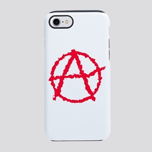 Red Atheist A iPhone 8/7 Tough Case