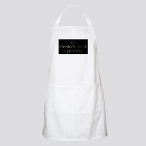 Be Passionately Curious Green Light Apron