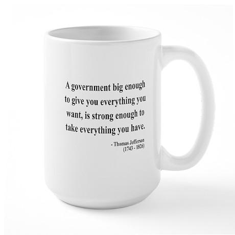 Thomas Jefferson 1 Large Mug