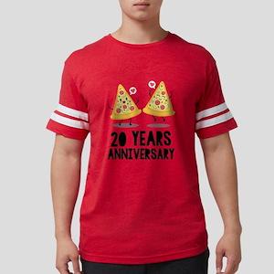 20th Anniversary Funny Pizza T-Shirt