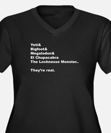 """""""Mythical Creatures"""" Plus Size T-Shirt"""