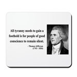 Thomas Jefferson 4 Mousepad