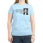 Thomas Jefferson 4 Women's Light T-Shirt
