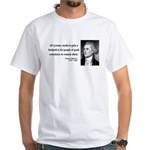 Thomas Jefferson 4 White T-Shirt