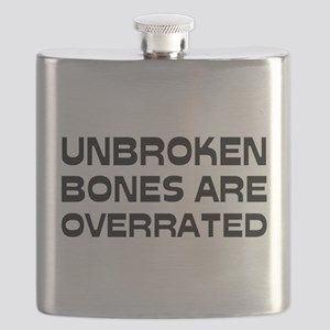 Broken bone Flask
