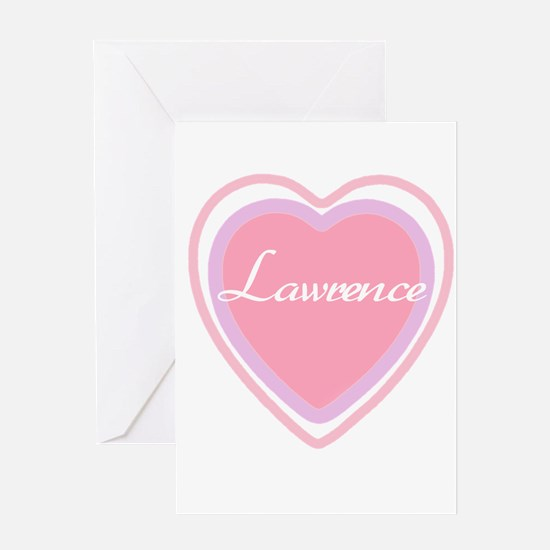 Lawrence Greeting Card