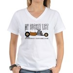 BUCKET LIST Women's V-Neck T-Shirt